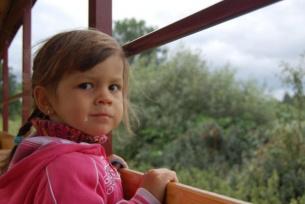Mała turystka - Jagoda. Z pozdrowieniami dla autorki zdjęcia :)