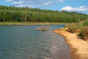 Zbiorniki wodne ~ Zbiornik wodny na strumyku Kotyzka