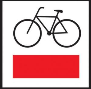 Czerwony szlak rowerowy