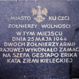 Zamach na E. Schütza - 25.05.1944